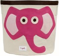 Aufbewahrungskorb Elefant (pink)