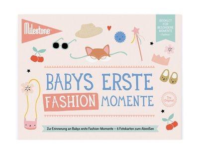 Milestone™ Booklet Baby-Fotokarten / Fashion-Momente / 6 Karten