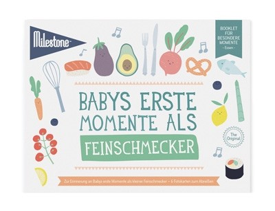 """Booklet """"Babys erste Momente als Feinschmecker"""" von Milestone™"""
