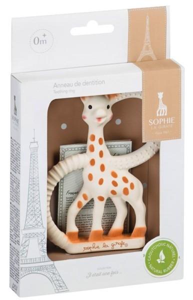 Beißring Sophie la girafe® - Version weich/weiße Verpackung