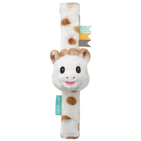 Sophie la girafe® - Baby-Armbandrassel / Handgelenkrassel / Fußfinder / Giraffe / Plüsch