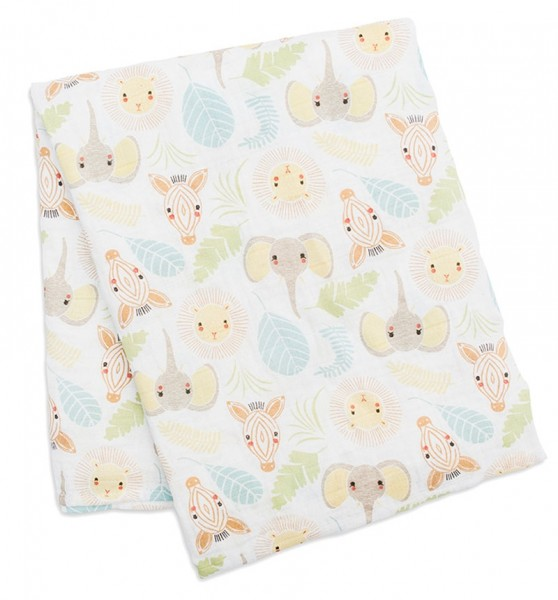 Muslin Swaddle Mulltuch - Jungle