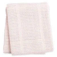 Baumwoll Strickdecke Pink
