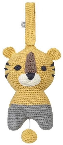 Spieluhr Tiger Hella - gelb