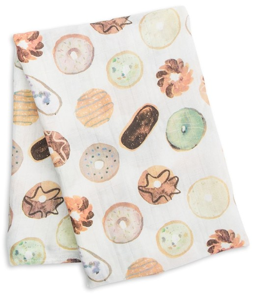 Bamboo Swaddle Blanket - Donuts