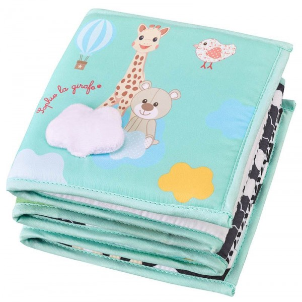 Sophie la girafe® - Entdeckerbuch faltbar / 96 x 15 cm / Textil
