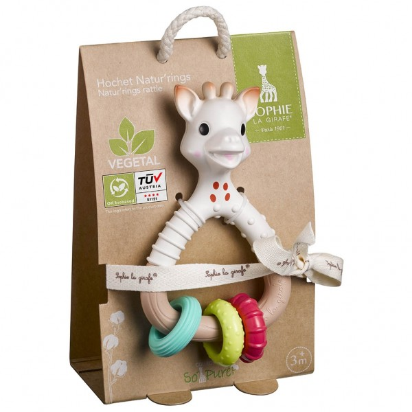 So''Pure Natur''rings rattle Sophie la girafe®
