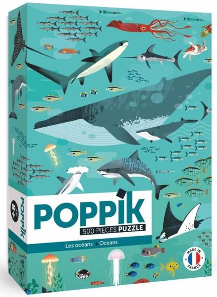 Poppik Puzzle / Ozean (500 Teile)