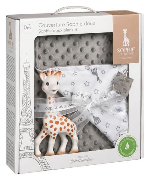 Schmusedecke 91 x 73 cm + Sophie la girafe®