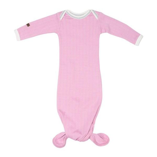 Juddlies Cottage Collection - Babyschlafrock/Strampler Baumwolle (Bio) / Sunset Pink (0-3 M)