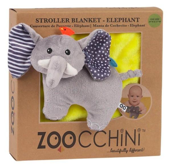 Kinderwagendecke Elefant