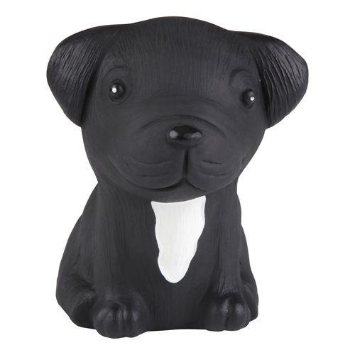 HEVEA Babyspielzeug - Greifling Hund / Französische Bulldogge / Naturkautschuk
