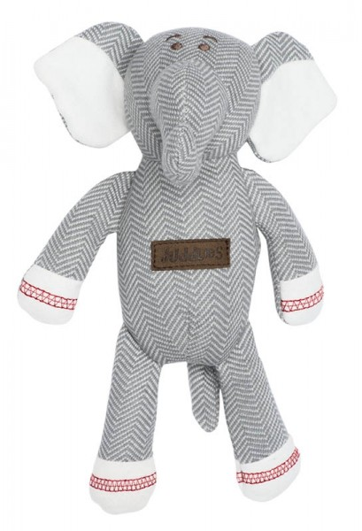Juddlies Cottage Collection - Rassel Baumwolle (Bio) / Elefant / Driftwood Grey