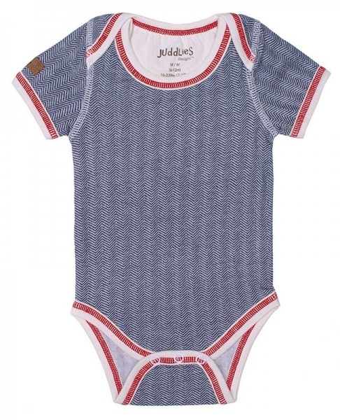 Cottage Collection - Body Baumwolle (Bio) - Lake Blue (S/3-6 M./5-7 kg)