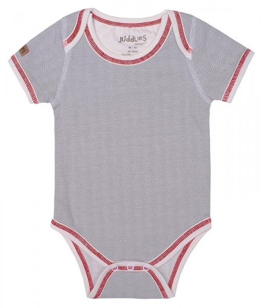 Cottage Collection - Body Baumwolle (Bio) - Driftwood Grey (S/3-6 M./5-7 kg)
