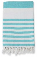 Turkish Towel Badetuch - Ocean Blue