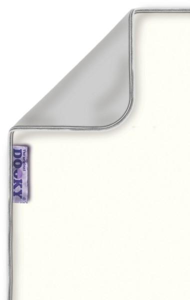 Dooky Blanket - Decke / doppellagig / Creme/Grau (*)