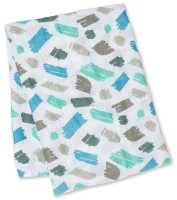 Muslin Swaddle Mulltuch - Scribbles (Designer Collection)