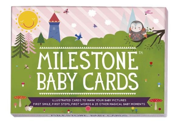 "Milestone™ Baby-Fotokarten - ""The Original Baby Cards"" / englisch / 30 Karten"