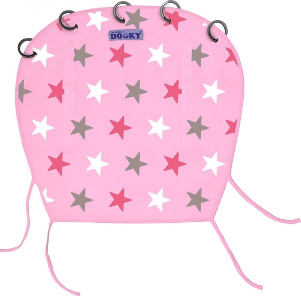 Dooky Design - Baby Pink with Pink Stars