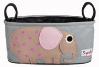 Kinderwagentasche Elefant